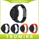 Silicone Rubber Watchband Quick Release 22mm for Samsung Gear S3 Classic Fr