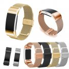 New Luxury Loop Stainless Steel Smart Wristband Strap Replacement Blacelet