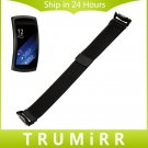 18mm Milanese Loop Watch Band + Adapters for Samsung Gear Fit 2 SM R360 Sta