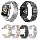 FOHUAS Stainless Steel Metal Replacement Band with Butterfly Buckle for App
