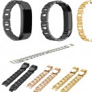 Replacement Accessory Metal Watch Bands Bracelet Strap for Fitbit Alta/ Fi