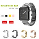 CRESTED Newest Luxury metal strap For Apple watch band 38mm 42mm stainless