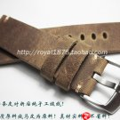 Retro Brown High Quality Handmade Straps Men's 18 19 20 21 22mm watch band