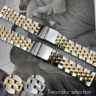 22mm 24mm Stainless Steel Watch Bands For Breitling Super Ocean GMT Watch S