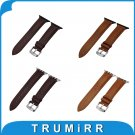 Top Layer Calf Genuine Leather Watchband + Adapters for iWatch Apple Watch
