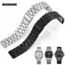 High Quality Solid Stainless Steel Watch Band Adjustable Strap Metal Watch