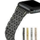 URVOI link bracelet band for apple watch 1 2 3 blink strap for iWatch stain