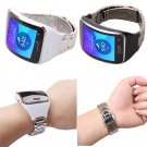 Watchband For Samsung Gear S SM R750 Strap Stainless Steel Metal Watch Band