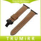 Italian Genuine Leather Watchband for iWatch Apple Watch Series 1 2 3 38mm