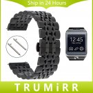 22mm Stainless Steel Watch Band Quick Release Strap for Samsung Gear 2 R380