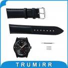 22mm Genuine Leather Watchband for LG G Watch W100 / R W110 / Urbane W150 S