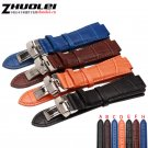 for T60 Genuine leather straps 24mm*lug 14mm*18mm with stainless steel buck