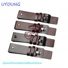 22mm 24mm 26mm 28mm 30mm Genuine Leather Watchband Men's Watch band High Qu
