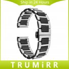 20mm Ceramic & Stainless Steel Watch Band for Samsung Gear S2 Classic R732