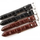 Durable men Women PU Faux Leather watch strap for men  18mm 20mm 22mm 24mm