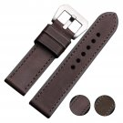 EACHE 22mm 24mm 26mm Imported Calfskin Leather Watch Strap Band Handmade St