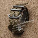 Watchband Nylon 22mm 24mm military watch band nylon strap For Nato Zulu sta
