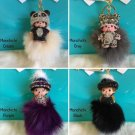 Cute Beachkin Charms - Monchichi Doll