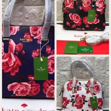 KATE SPADE Floral Maise Bags