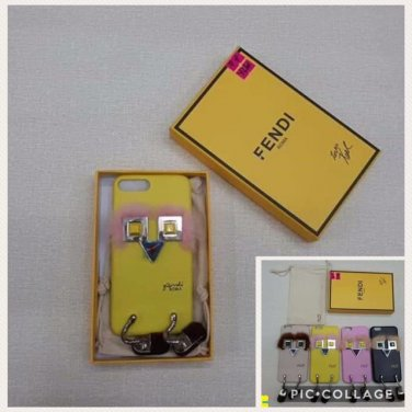 FENDI Monster Fur iPhone Case