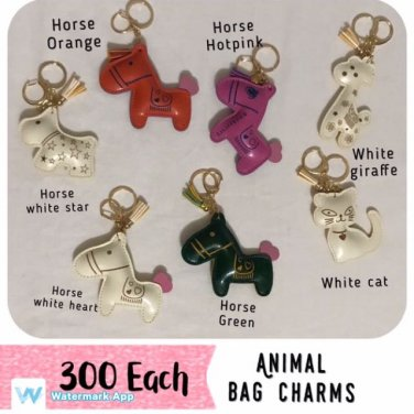Cute Animal Charms For Beachkins And Bags