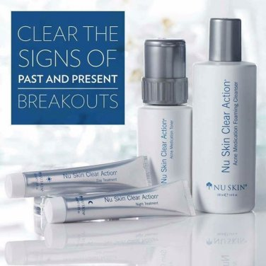 Nu Skin Clear Action System (Acne-Prone Skin)