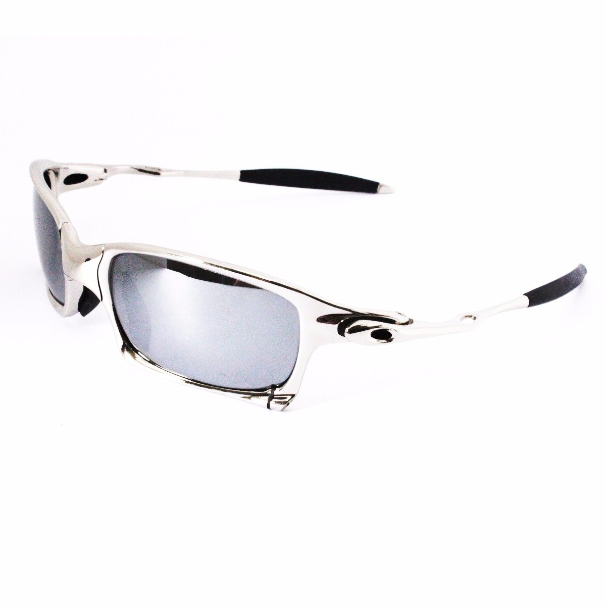 Oakley Squared Sunglasses x-metal - Silver with Black