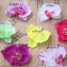 "100pcs   9cm/3.54""Silk Artificial Orchid butterfly Flowers Wedding Decoration"
