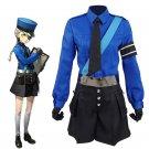 Persona 5 Justin Cosplay Costume Anime Women Suit School Uniform