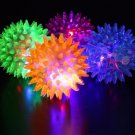 LED Flashing Spiky Stress Ball Massage Toy