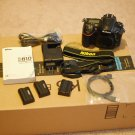 New Nikon D810 DSLR with standard accessories USA model w/121,067