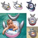 New Shark Shaped Kids Inflatable Baby Toddler Swimming Swim Seat Float
