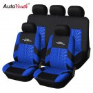 AUTOYOUTH Tire Track Detail Style Polyester Car Seat Cover Universal