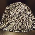 Black/Grey Crochet Beanie
