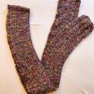 Multi Colored Long crochet Scarg