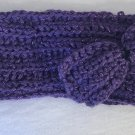 Purple Sparkly Bow Headband