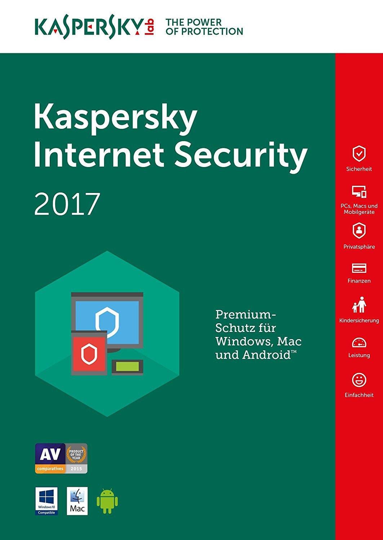 Kaspersky Internet Security 1 DEVICE 1 YEAR EU/UK