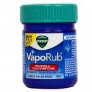 Vicks Vaporub Ointment Vaporize Blocked Nose Cough Nasal Congestion Headache