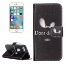 For iPhone 8 & 7 Cat Pattern Flip Leather Case with Holder, Card Slots & Wallet