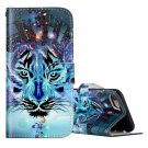 For iPhone 8 & 7 Wolf Pattern Leather Case with Card Slots, Wallet & Photo Frame