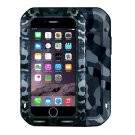 For iPhone 7 City Camouflage  LOVE MEI Powerful Dust proof Shockproof Anti-slip Metal Case