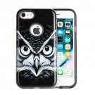 For iPhone 8 & 7 Male Owl Pattern TPU + PC Relief Combination Case