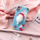 For iPhone 8 & 7 Play Ball Seal Squishy Protective Back Cover Case