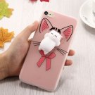 For iPhone 8 & 7 3D Cartoon Squeeze Relief Squishy Drop proof Back Cover Case