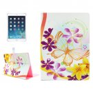 For iPad Pro 12.9 inch Flower Pattern Horizontal Flip Leather Case with Holder