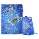For iPad Pro 10.5 inch Butterfly Pattern Leather Case with 3 Gears Holder & Card Slots