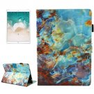 For iPad Pro 10.5 inch Marble Pattern Leather Case with Holder & Card Slots & Sleep