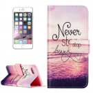 For iPhone 8+ & 7+ Embossed Dreaming Pattern Leather Case with Holder, Card Slots & Wallet