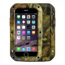 For iPhone 7+ Jungle Camouflage LOVE MEI Dust proof Shockproof Anti-slip Metal Professional Case
