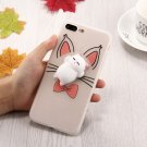 For iPhone 8+ & 7+ 3D Cartoon 3 Squeeze Relief Squishy Drop proof Back Cover Case